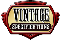 Paul Fox Vintage Specifications