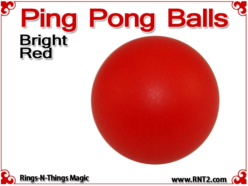 Ping pong balls 40mm bright red - How are ping pong balls made ...