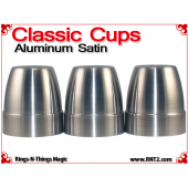 Classic Cups | Aluminum | Satin Finish 2
