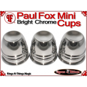 Paul Fox Mini Cups | Copper | Bright Chrome Finish 4