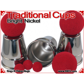 Traditional Tapered Cups | Copper | Bright Nickel 4