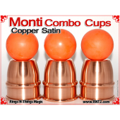 Monti Combo Cups | Copper | Satin Finish 4