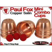 Paul Fox Mini Combo Cups | Copper | Satin Finish 3