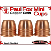 Paul Fox Mini Cups | Copper | Satin Finish 2