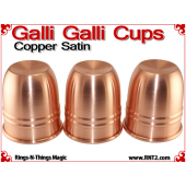 Galli Galli Cups | Copper | Satin Finish 3
