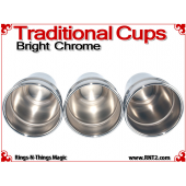 Traditional Tapered Cups | Copper | Bright Chrome 5
