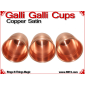 Galli Galli Cups | Copper | Satin Finish 5