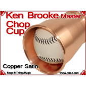 Ken Brooke Master Chop Cup | Copper| Satin Finish 4
