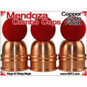 Mendoza Combo Cups | Copper | Satin Finish 4
