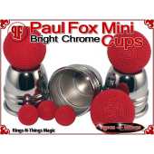 Paul Fox Mini Cups | Copper | Bright Chrome Finish 6