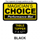 Performance Mat | Table Topper | Black 3