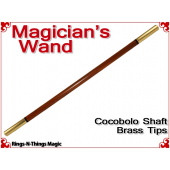 Magicians Wand | Cocobolo & Brass