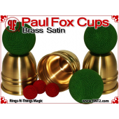 Paul Fox Cups | Brass | Satin Finish 7