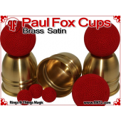 Paul Fox Cups | Brass | Satin Finish 4
