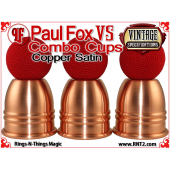 Paul Fox VS Combo Cups | Copper | Satin Finish 3