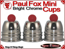 Paul Fox Mini Cups | Copper | Bright Chrome Finish 1