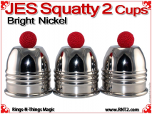 JES Squatty 2 Cups | Copper | Bright Nickel
