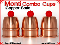 Monti Combo Cups | Copper | Satin Finish