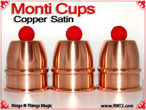 Monti Cups | Copper | Satin Finish