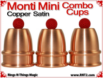 Monti Mini Combo Cups | Copper | Satin Finish