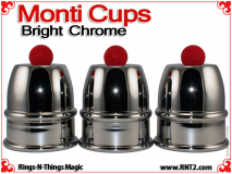 Monti Cups | Copper | Bright Chrome Finish
