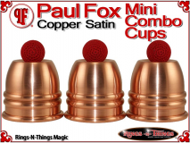 Paul Fox Mini Combo Cups | Copper | Satin Finish