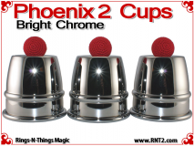 Phoenix 2 Cups | Copper | Bright Chrome 1