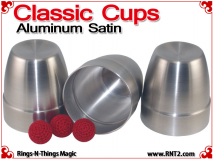 Classic Cups | Aluminum | Satin Finish 3