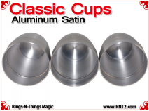 Classic Cups | Aluminum | Satin Finish 5