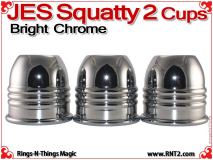 JES Squatty 2 Cups | Copper | Bright Chrome 2
