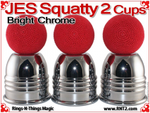JES Squatty 2 Cups | Copper | Bright Chrome 4