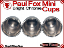 Paul Fox Mini Cups | Copper | Bright Chrome Finish 5