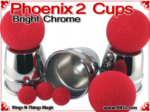 Phoenix 2 Cups | Copper | Bright Chrome 4