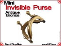 Mini Invisible Purse | Antique Bronze 3