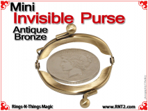 Mini Invisible Purse | Antique Bronze 4