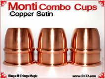 Monti Combo Cups | Copper | Satin Finish 2