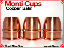 Monti Cups | Copper | Satin Finish 2
