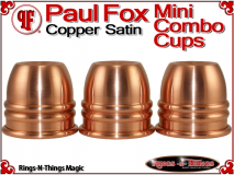 Paul Fox Mini Combo Cups | Copper | Satin Finish 2