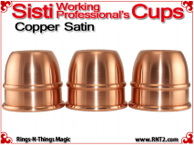 Sisti Working Professional's Cups | Copper | Satin Finish 2