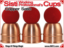 Sisti Working Professional's Cups | Copper | Satin Finish 4