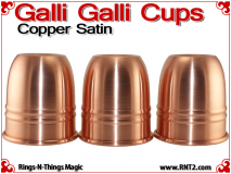 Galli Galli Cups | Copper | Satin Finish 2