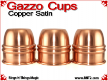 Gazzo Cups | Copper | Satin Finish 2