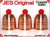 JES Original Squatty Cups | Copper | Satin Finish 1