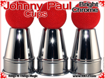 Johnny Paul Cups | Steel | Bright Chrome 5