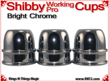 Shibby Working Pro Cups | Copper | Bright Chrome 2