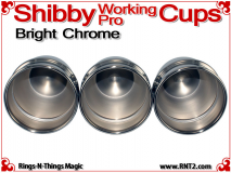 Shibby Working Pro Cups | Copper | Bright Chrome 5