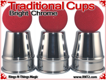 Traditional Tapered Cups | Copper | Bright Chrome 4