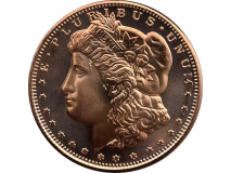 Copper Morgan Dollar 1oz (39mm)