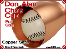 Don Alan Full Size Chop Cup | Copper | Satin Finish 4
