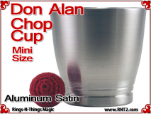 Don Alan Mini Chop Cup | Aluminum | Satin Finish 2
